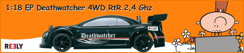 1:18 Ep Deathwatcher 4wd RtR 2,4 Ghz